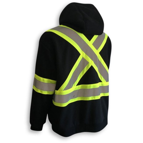 black heated hoodie