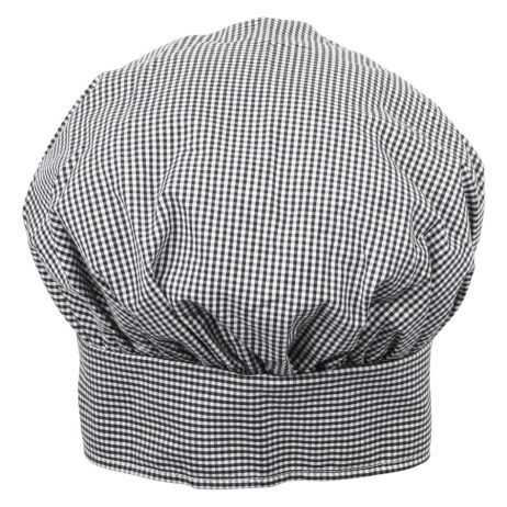 Checkered Chef Hat