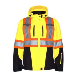 3 Layer Insulated Hi-Viz Jacket Front