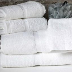 Chateau Dobby Border Towels