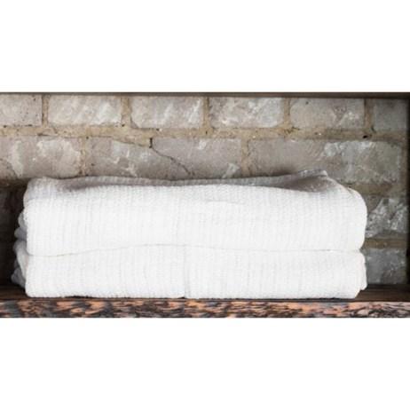 white thermal blanket