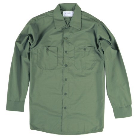 Green Work Shirt