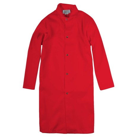 Red Food Industry Coat