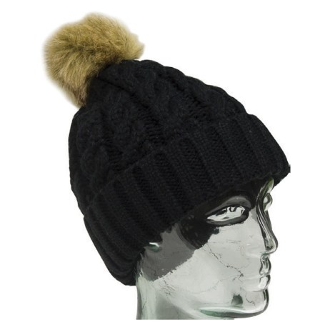 Black Knit Toque