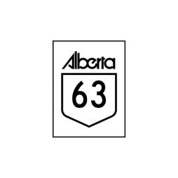 Alberta 63 Sticker