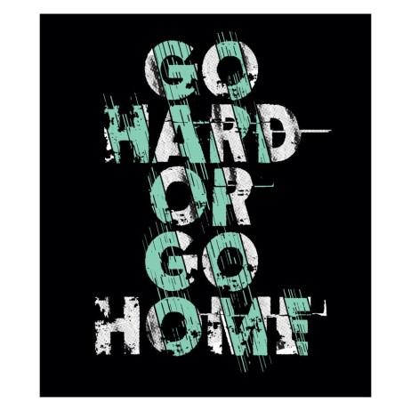 Go Hard Sticker