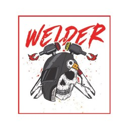 Welder Sticker