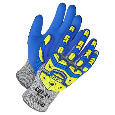hi-viz tpr cut resistant glove