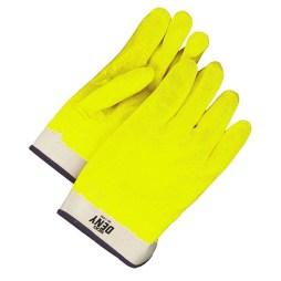 hi viz yellow glove