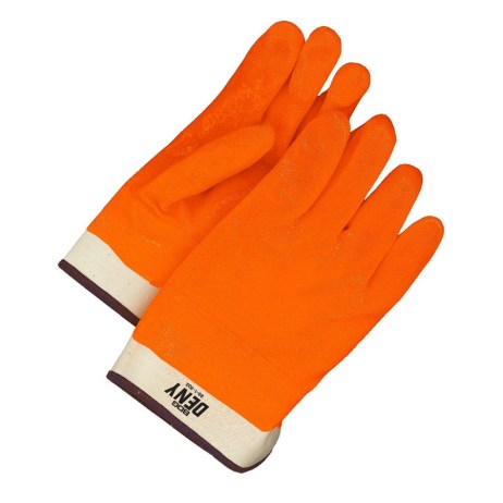 hi viz orange glove