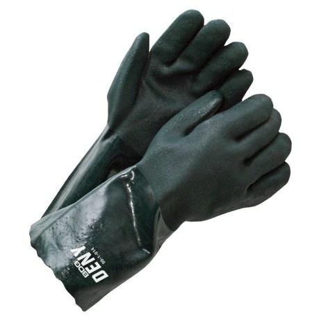 pvc coated gauntlet gloves
