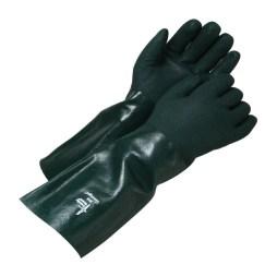 pvc gauntlet gloves