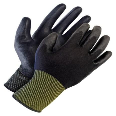 seamless nylon knit gloves