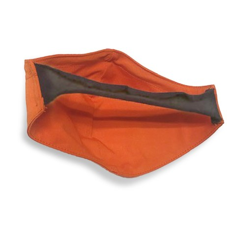 orange fr mask back