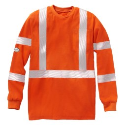 womens orange fr shirt