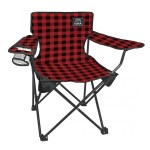 red plaid cub chair