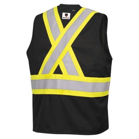 back black fr vest