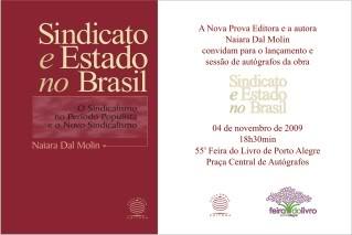 Sindicato e Estado no Brasil