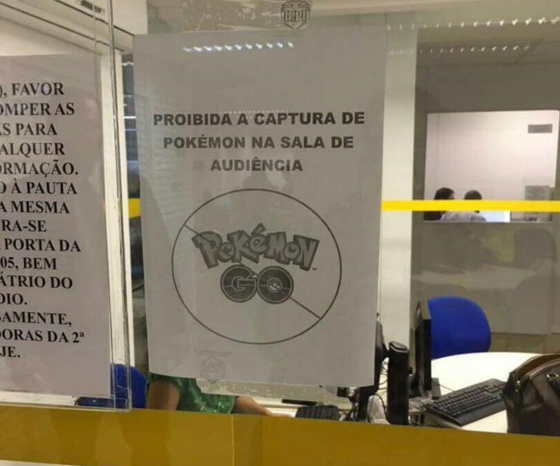 PokemonGo e a Justiça.