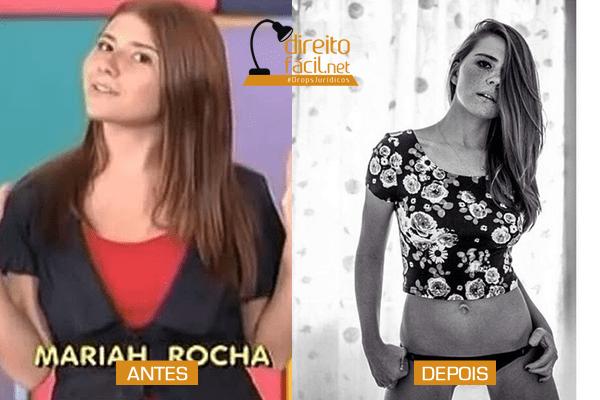 Mariah Rocha: outra ruivinha sardenta que se transformou em mulherão!