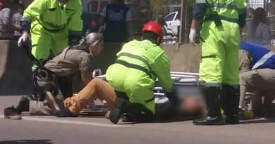 """Jovem morre após saltar de viaduto; pessoas gritavam """"pula, pula"""""""