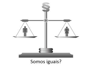 Imagem de uma balança que demonstra igualdade