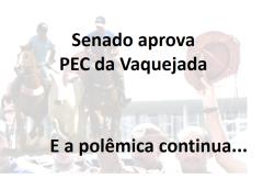 PEC 50-2016 - vaquejada