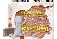 Reforma da previdência BPC LOAS