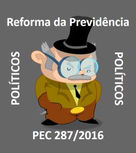 reforma da previdência políticos