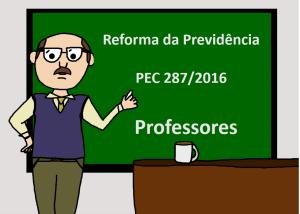 reforma da previdência professor