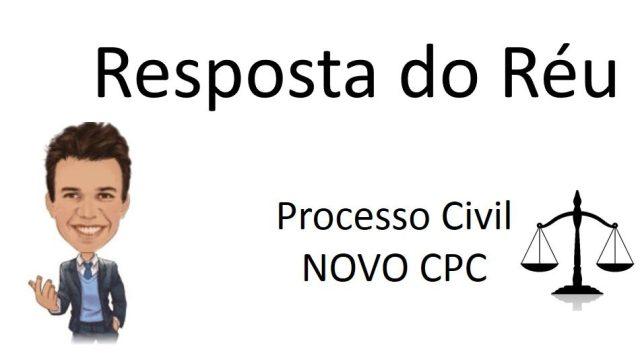 contestação e o novo CPC