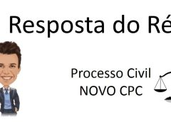 Resposta do Réu e o novo CPC