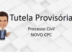 Tutela Provisória e o novo CPC
