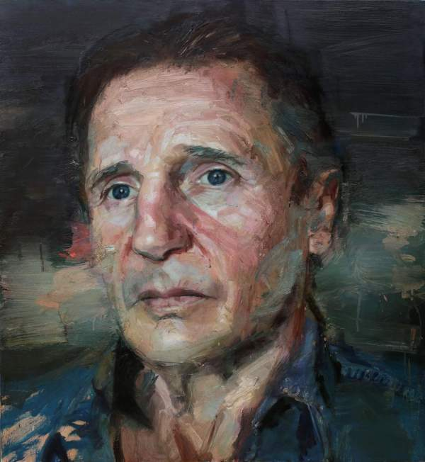 Contemporary Portrait Oil Painting Artist