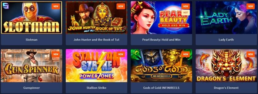 Slotman casino games