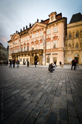 Palazzo Kinsky (Galleria Nazionale), in piazza della Città Vecchia
