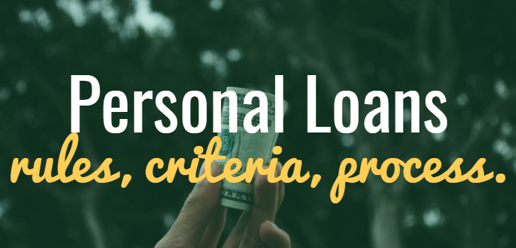 personal loans for non listed companies non salary transfer