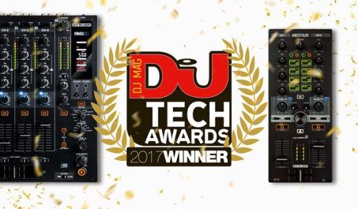 DJ TECH AWARDS 2017受賞