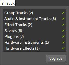 8-Trackの制限