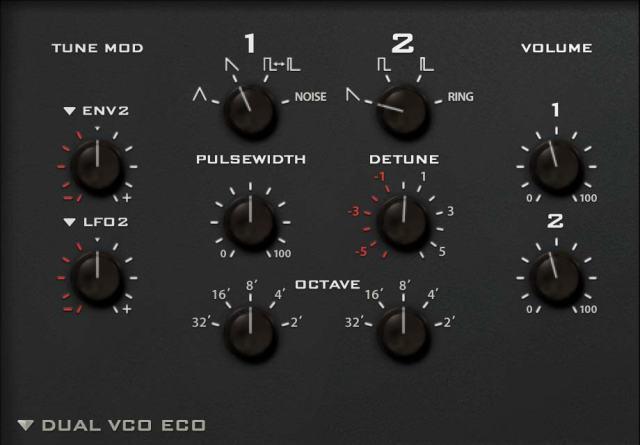 Dual VCO Eco
