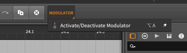 Activate/Deactivate Modulator