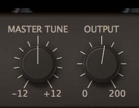 Master tune / Master Output