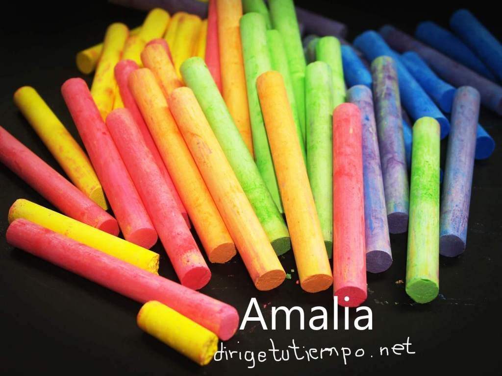 Amalia. Mi mejor maestro.