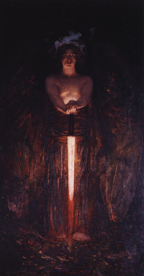 Angel with a Flaming Sword