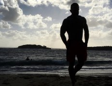 Jesse snapped this photo on the beach near Sydney.