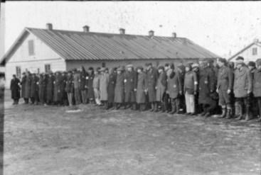 Lettland, KZ Salaspils, Häftlingsappell