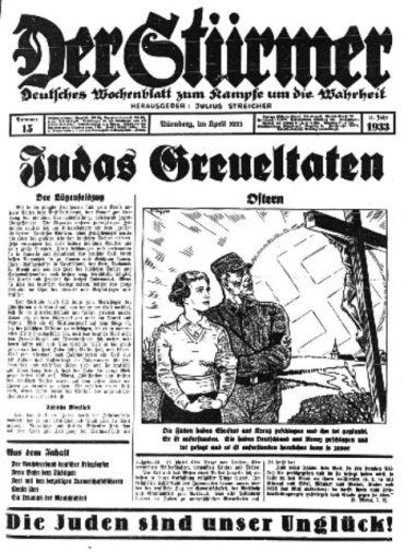 der-sturmer-april-1933