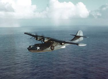 Consolidated_PBY-5A_Catalina_in_flight_c1942