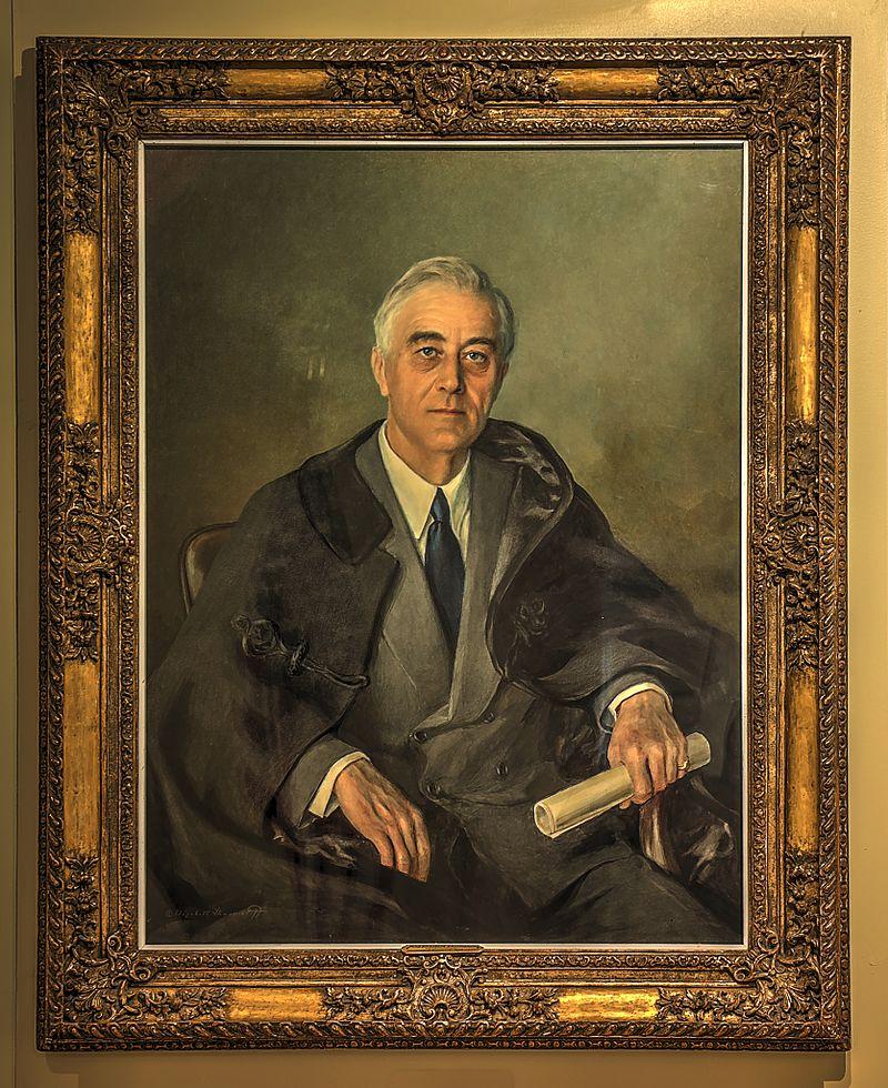 Unfinished Portrait Of Franklin D Roosevelt : unfinished, portrait, franklin, roosevelt, Unfinished, Portrait, Franklin, Roosevelt., History, Sorts