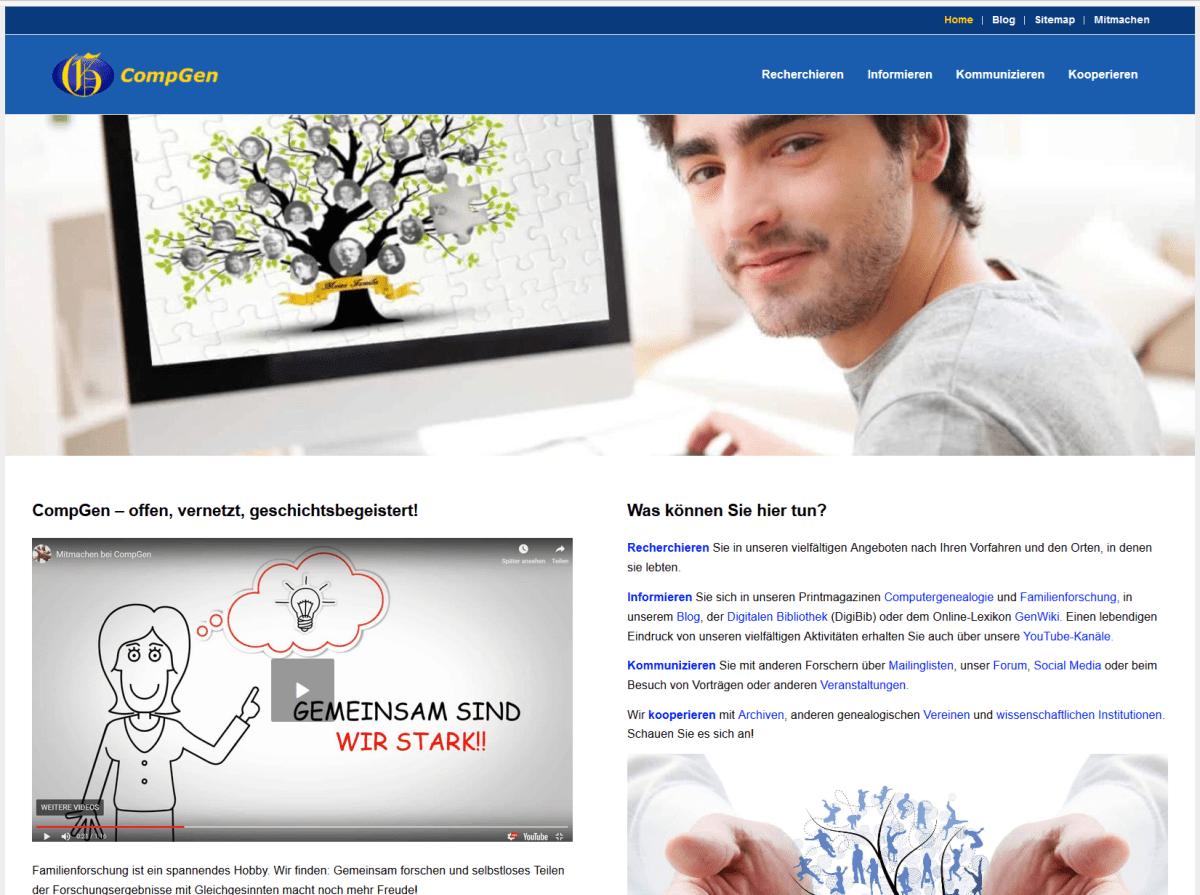 neue Compgen-Webseite